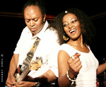 Donn� with SABA ALEMAYEHU