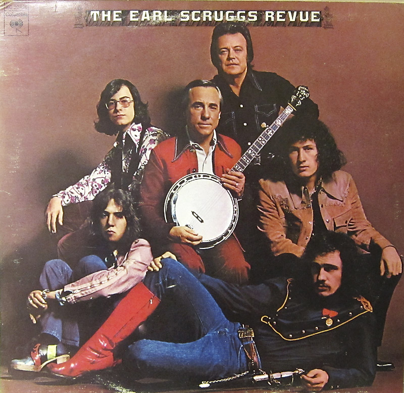 Earl Scruggs Revue LP cover